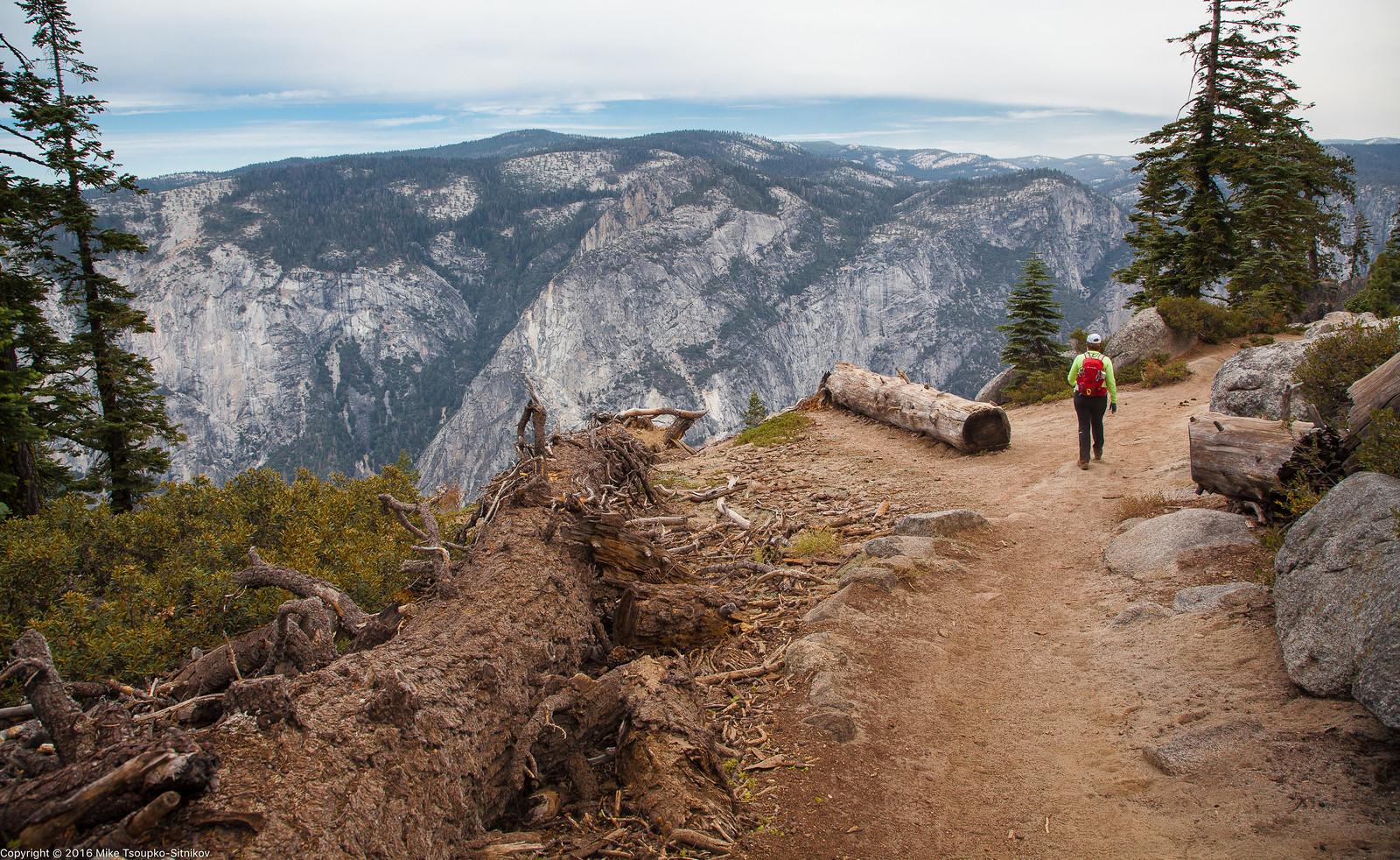 Pohono Trail in Yosemite