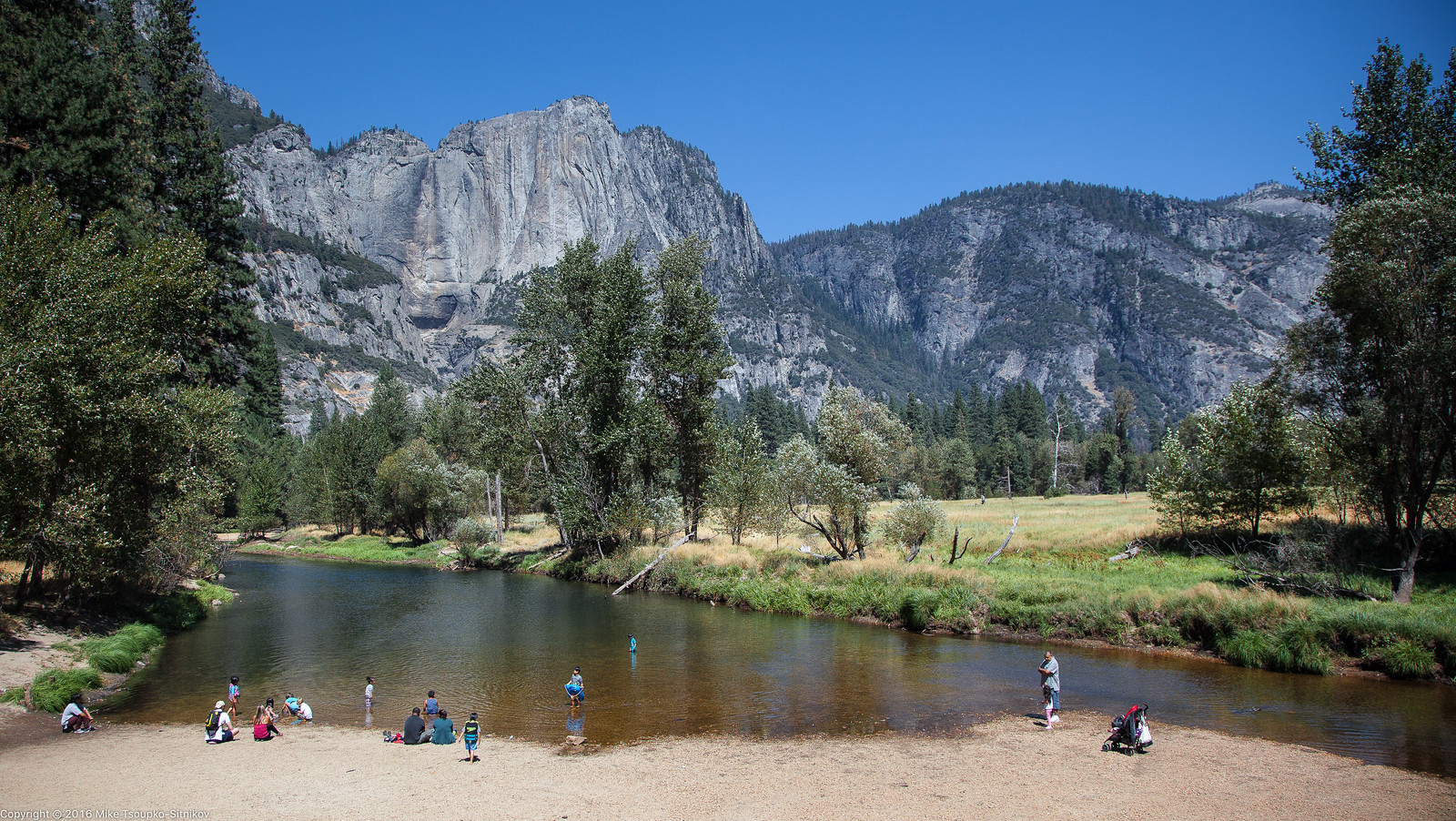 Merced River in August