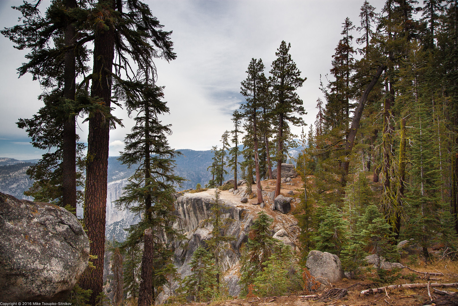 Pohono Trail in Yosemite