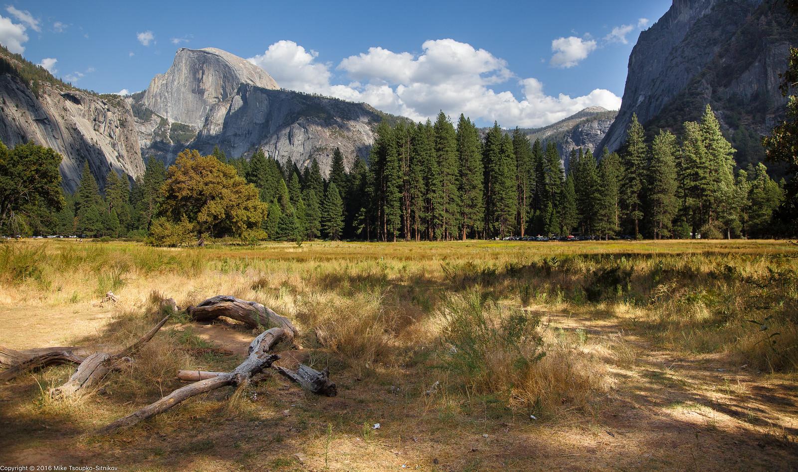 Yosemite Valley in August