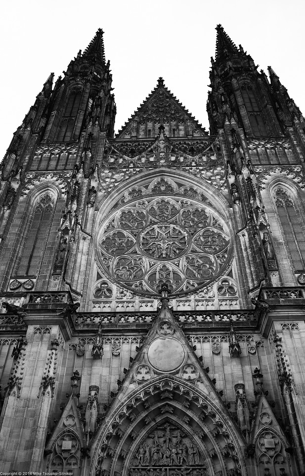 Prague. Hradčany. St. Vitus Cathedral