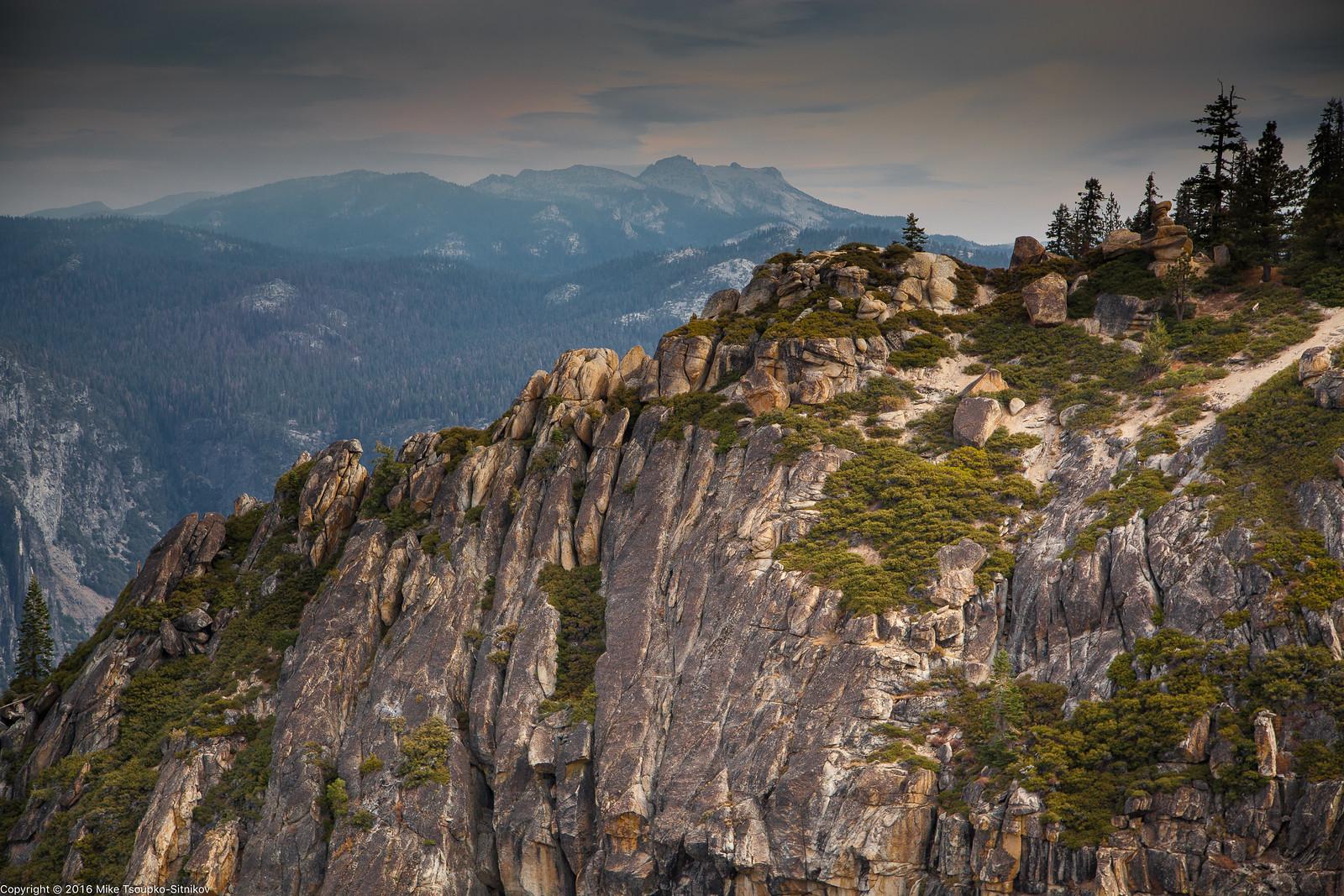 Taft Point in Yosemite
