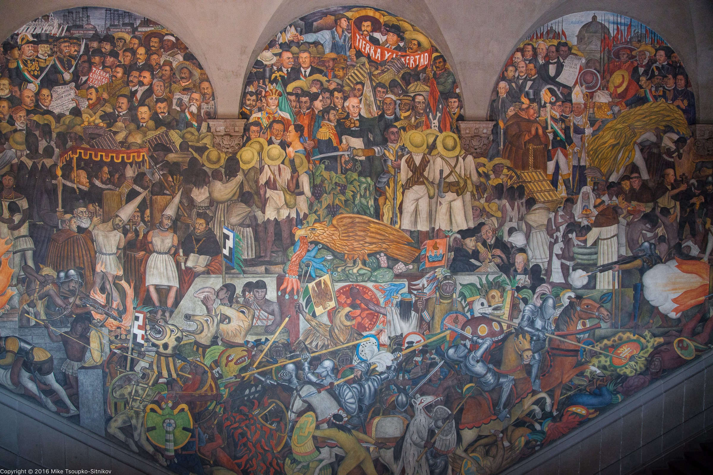 Diego rivera in mexico city demerjee travels more for Diego rivera mural paintings