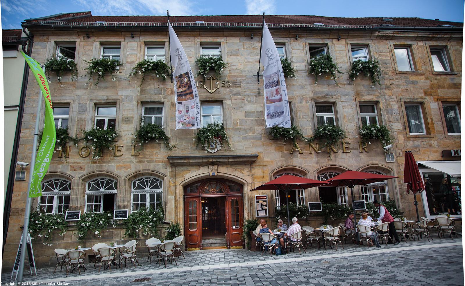 Hotel Goldener Anker in Bayreuth