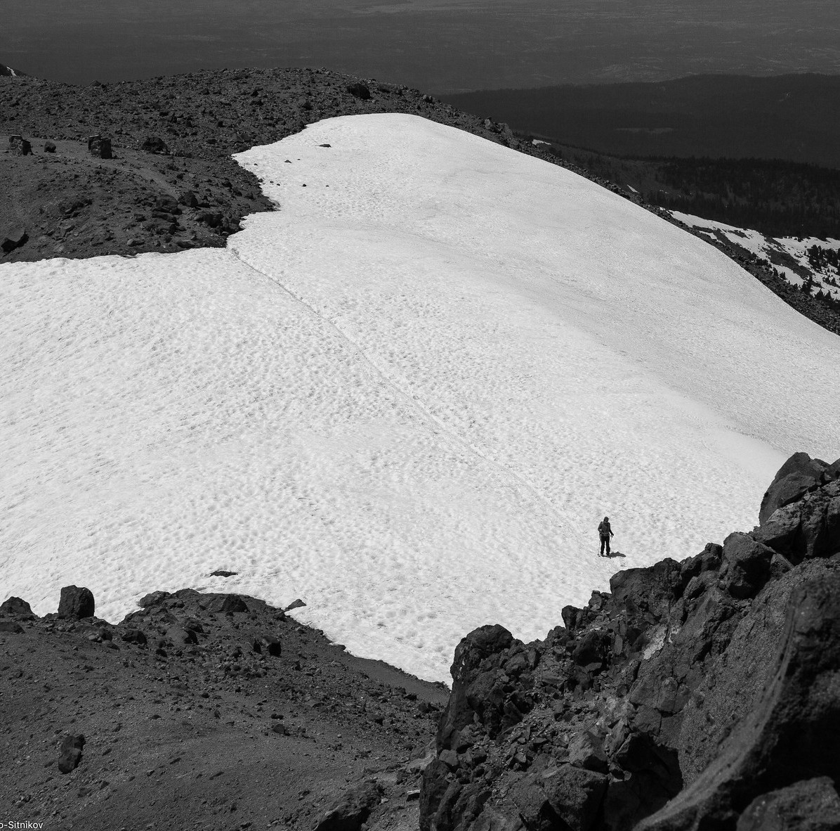 Lassen Peak: almost there