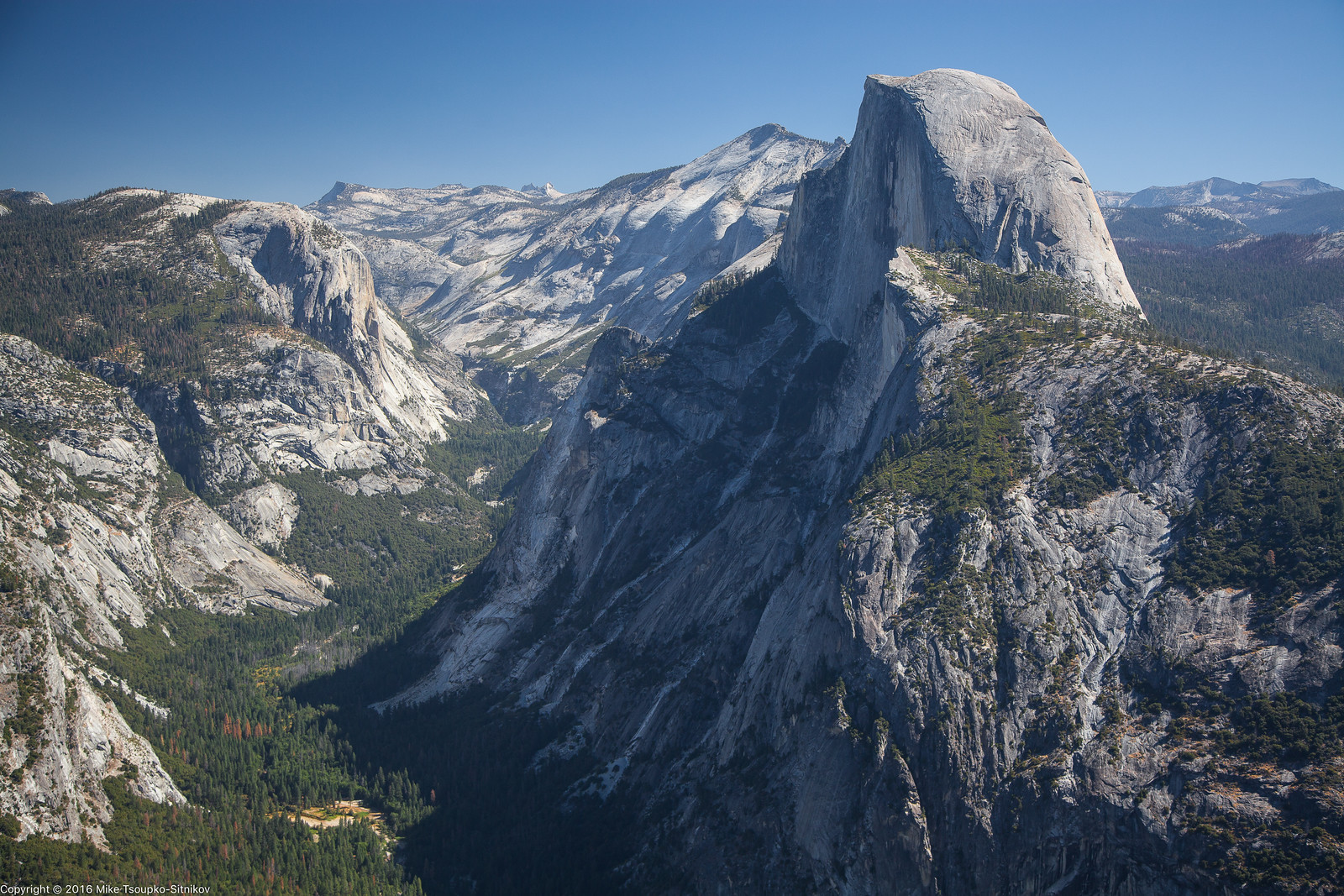 A View from Glacier Point