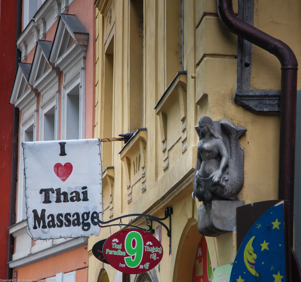 Prague. The Old Town.