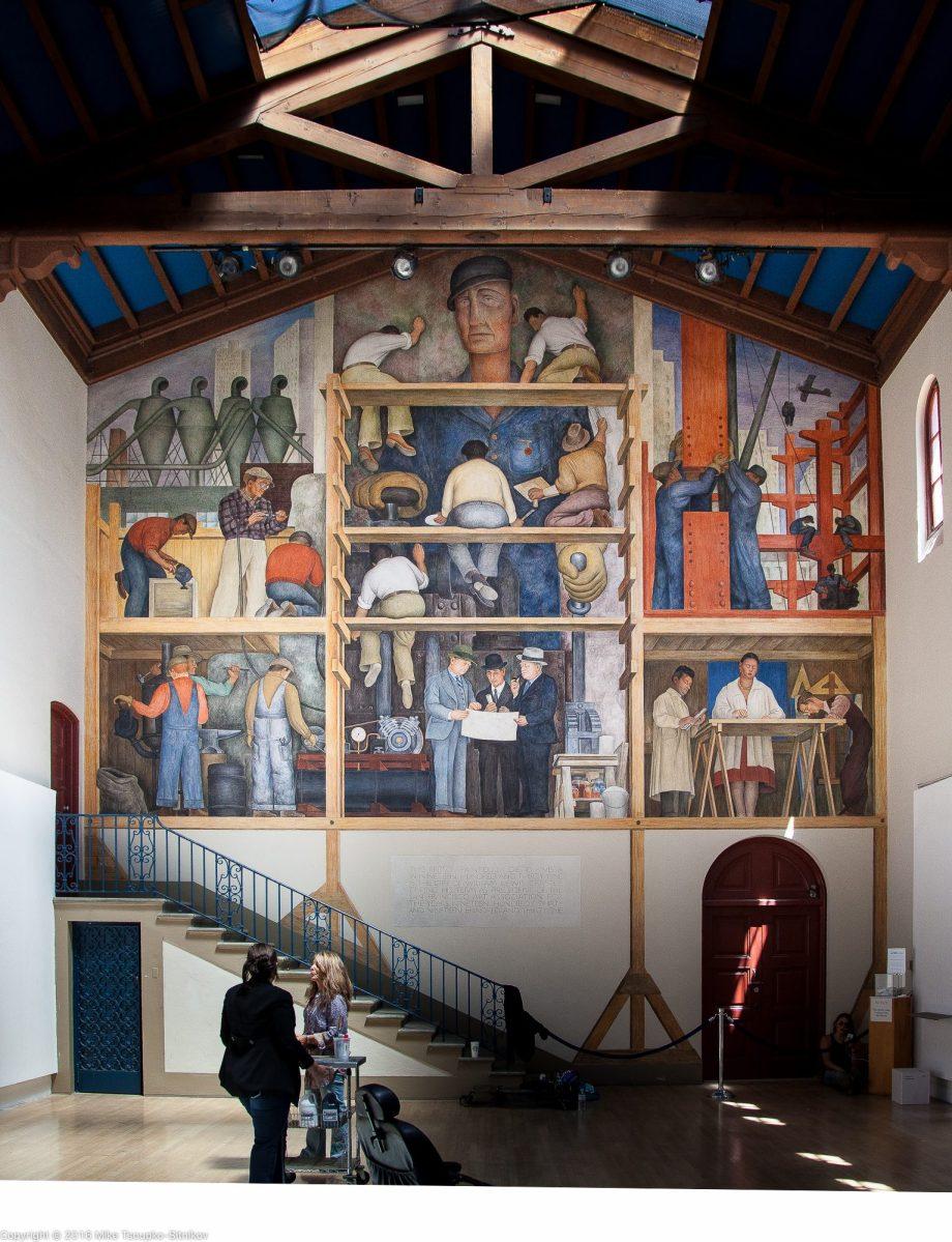 Diego rivera in san francisco demerjee travels more for City college of san francisco diego rivera mural