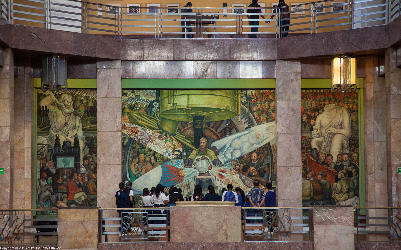 Diego rivera in mexico city demerjee travels more for Diego rivera mural at rockefeller center