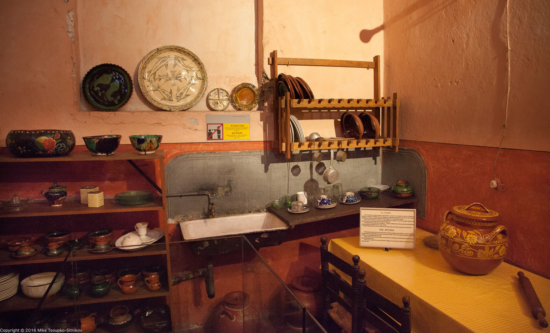 Trotsky house: the kitchen