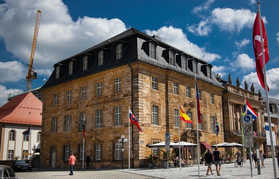 Bayreuth. Café an der Oper at Opernstraße