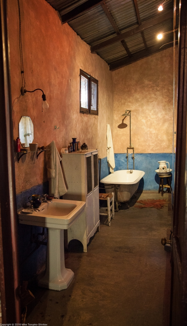 Trotsky house: the bathroom