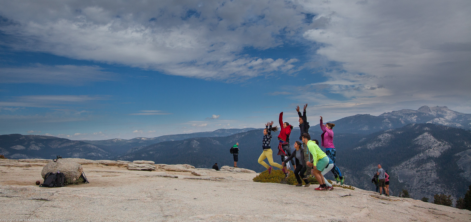 Sentinel Dome in Yosemite