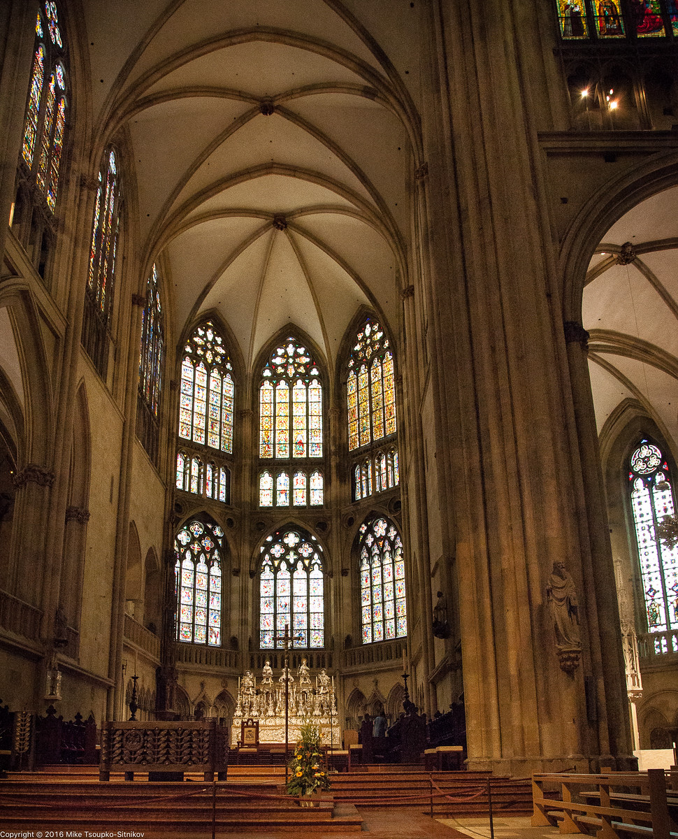 Regensburg. St. Peter's Cathedral