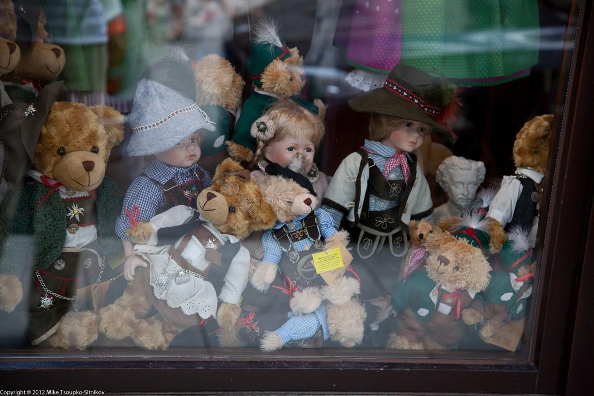 Munch. A store window off Platzl