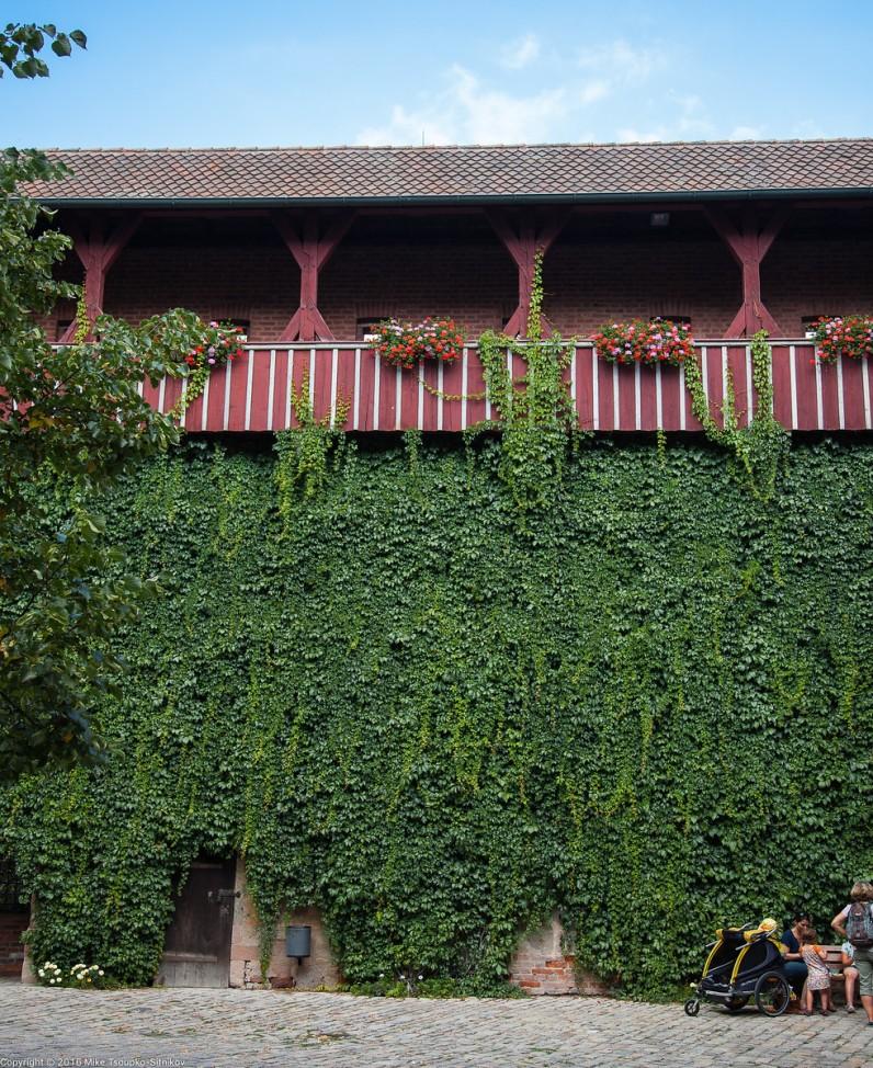 Nuremberg Castle: an Imperial quarters building