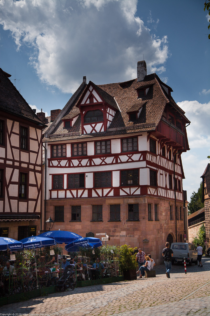 Nuremberg. Tiergärtnerplatz. Albrecht Dürer's House