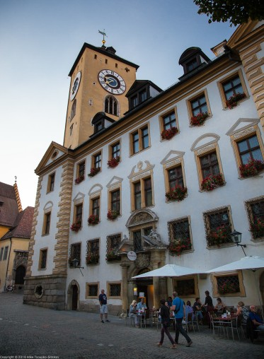 Regensburg. The Old Town