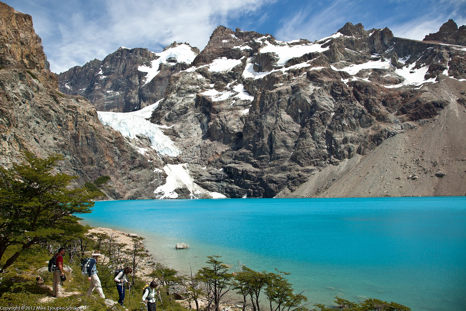 Laguna Azul and the Glacier