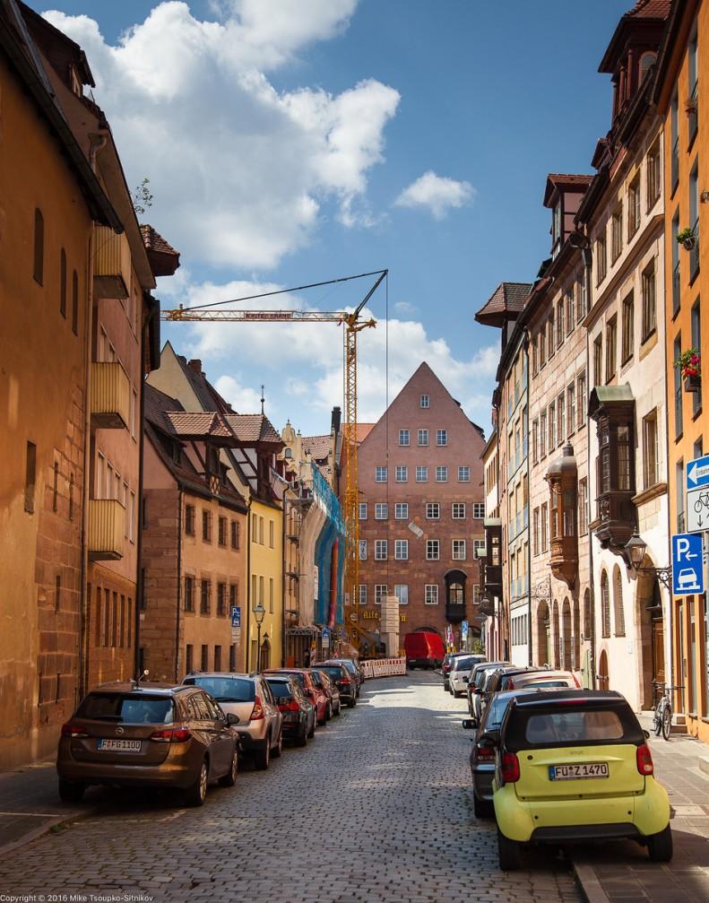 Nuremberg - the old town