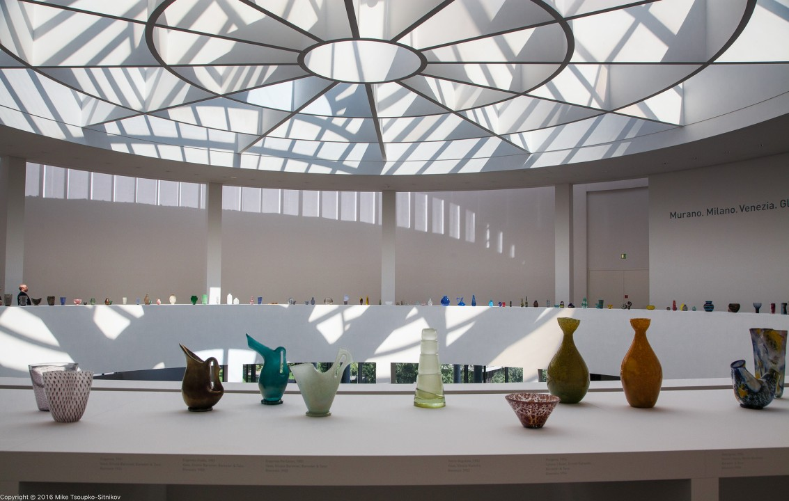 Glass show at Pinakothek der Moderne