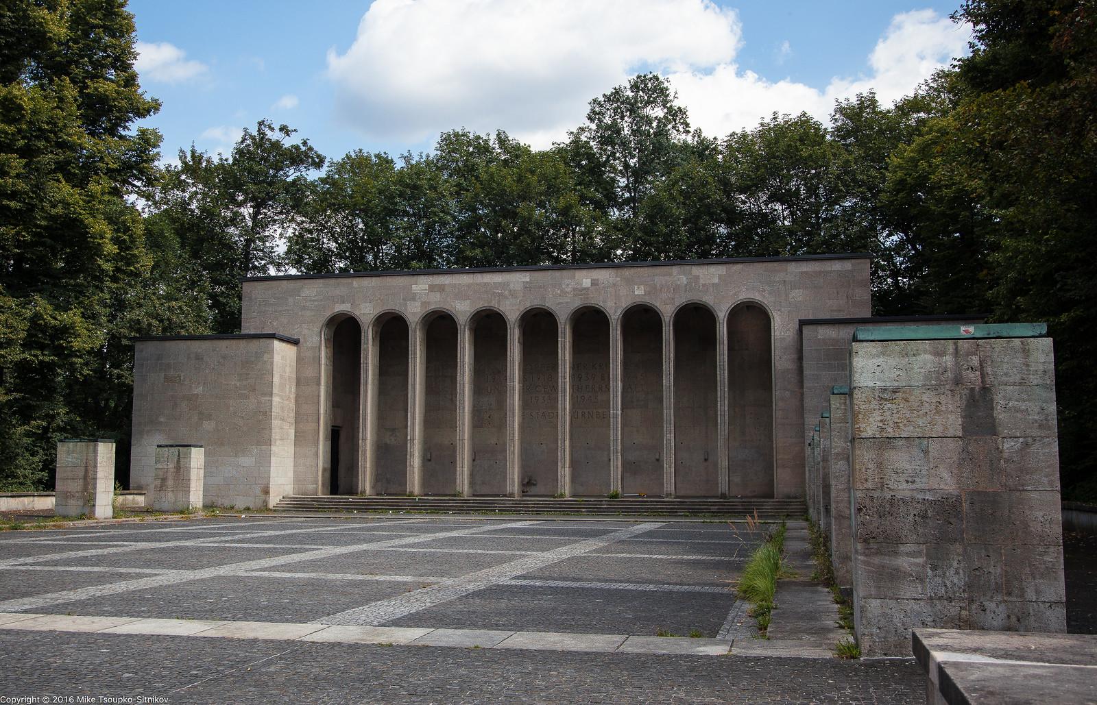 Nuremberg. The Erenhalle rally site