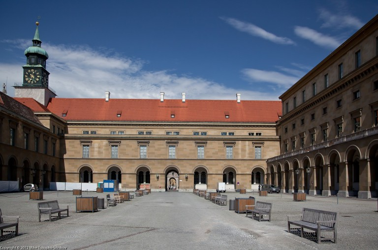 Residenz: one of the 10 courtyards