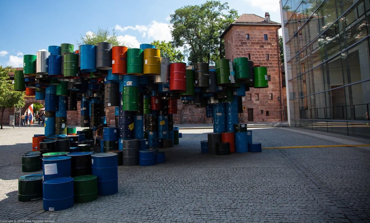 "Nuremberg. Some street ""art""."