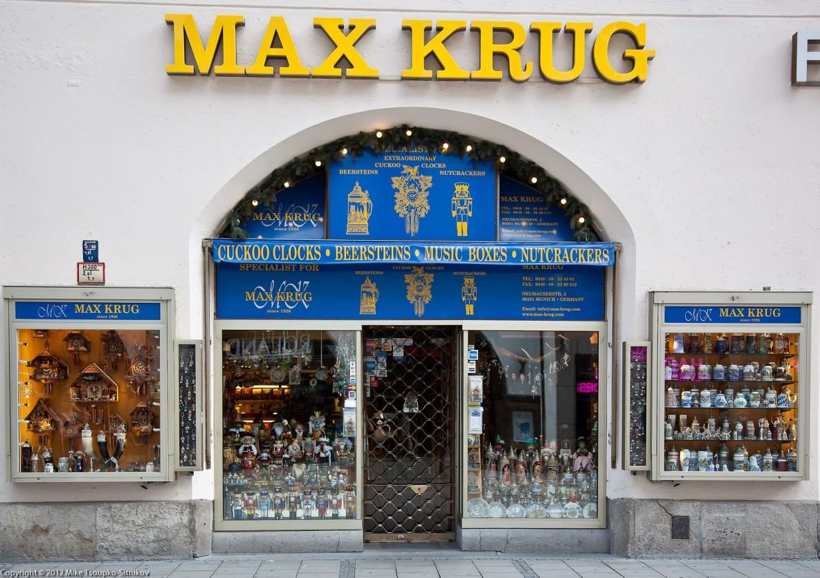 A store at Kaufingerstraße