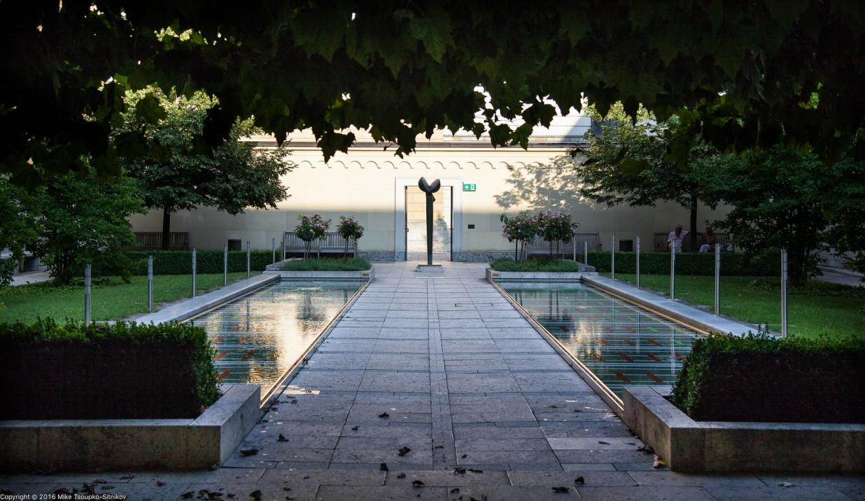 Residenz: the Kabinettsgarten