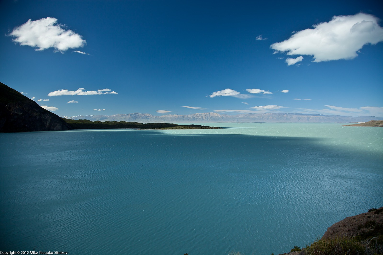 Lake Viedma - a view from Punta del Viento