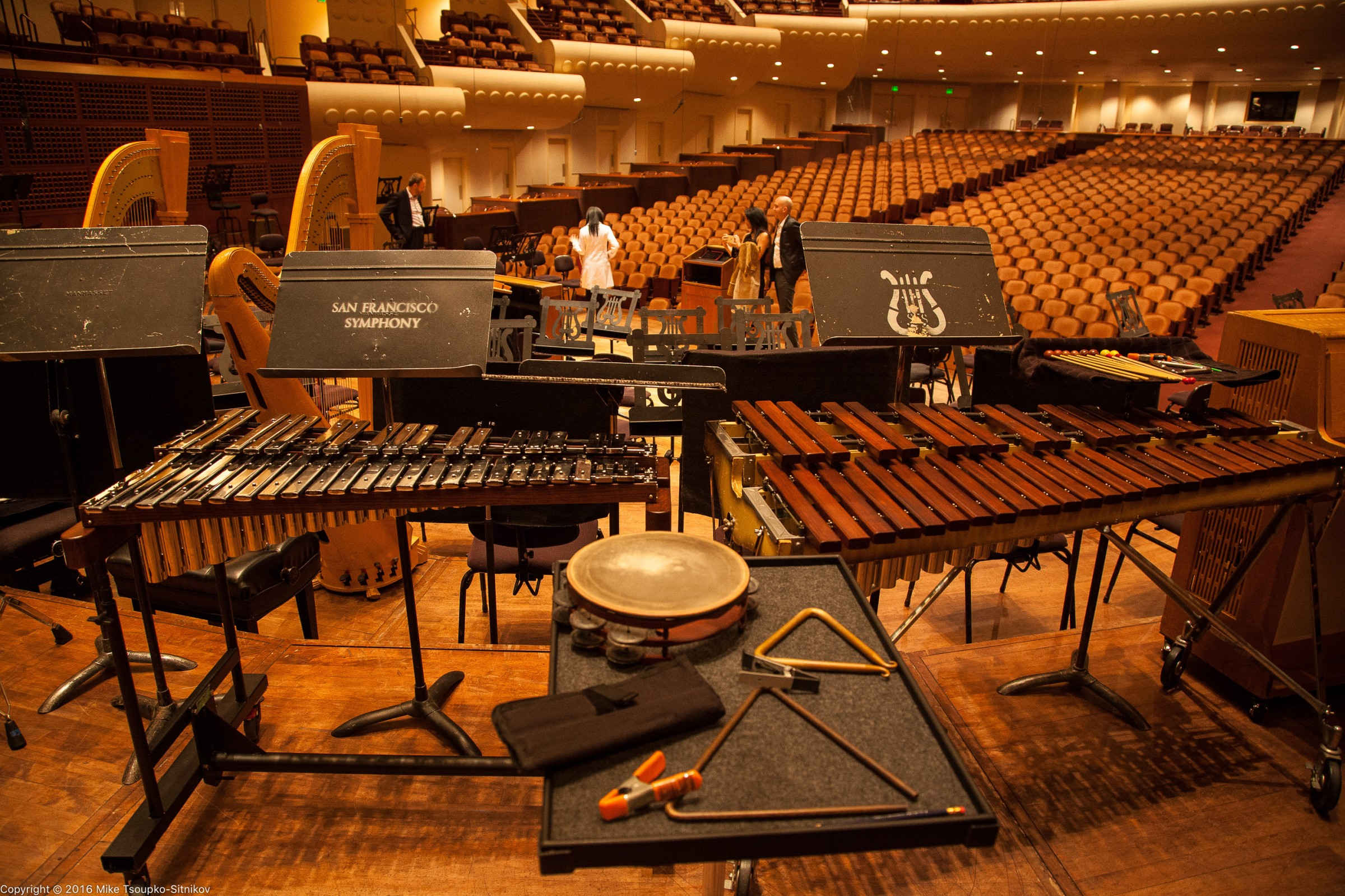 San Francisco Symphony: The Glockenspiels and the Triangles