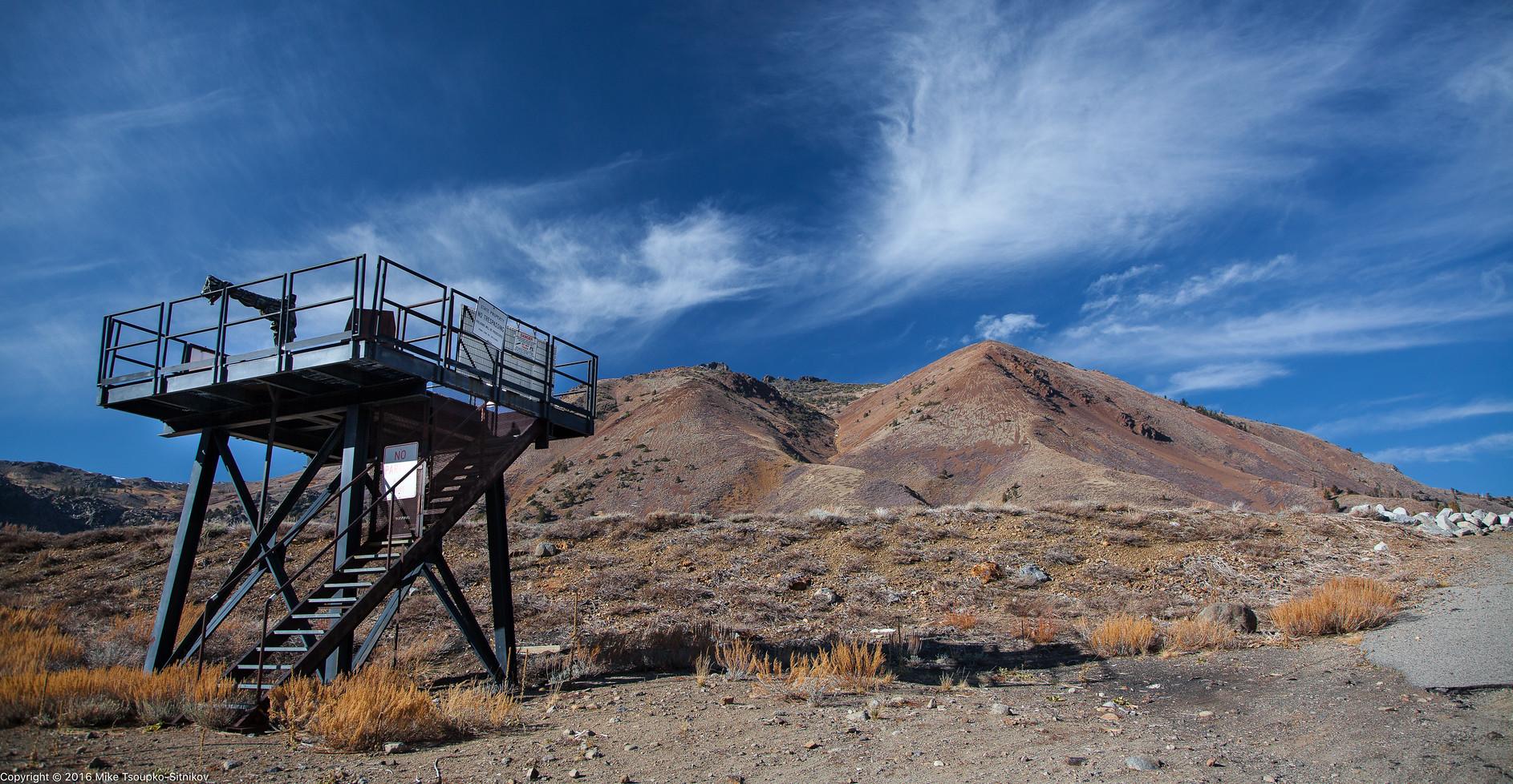 Avalanche Gun Platform at Red Lake