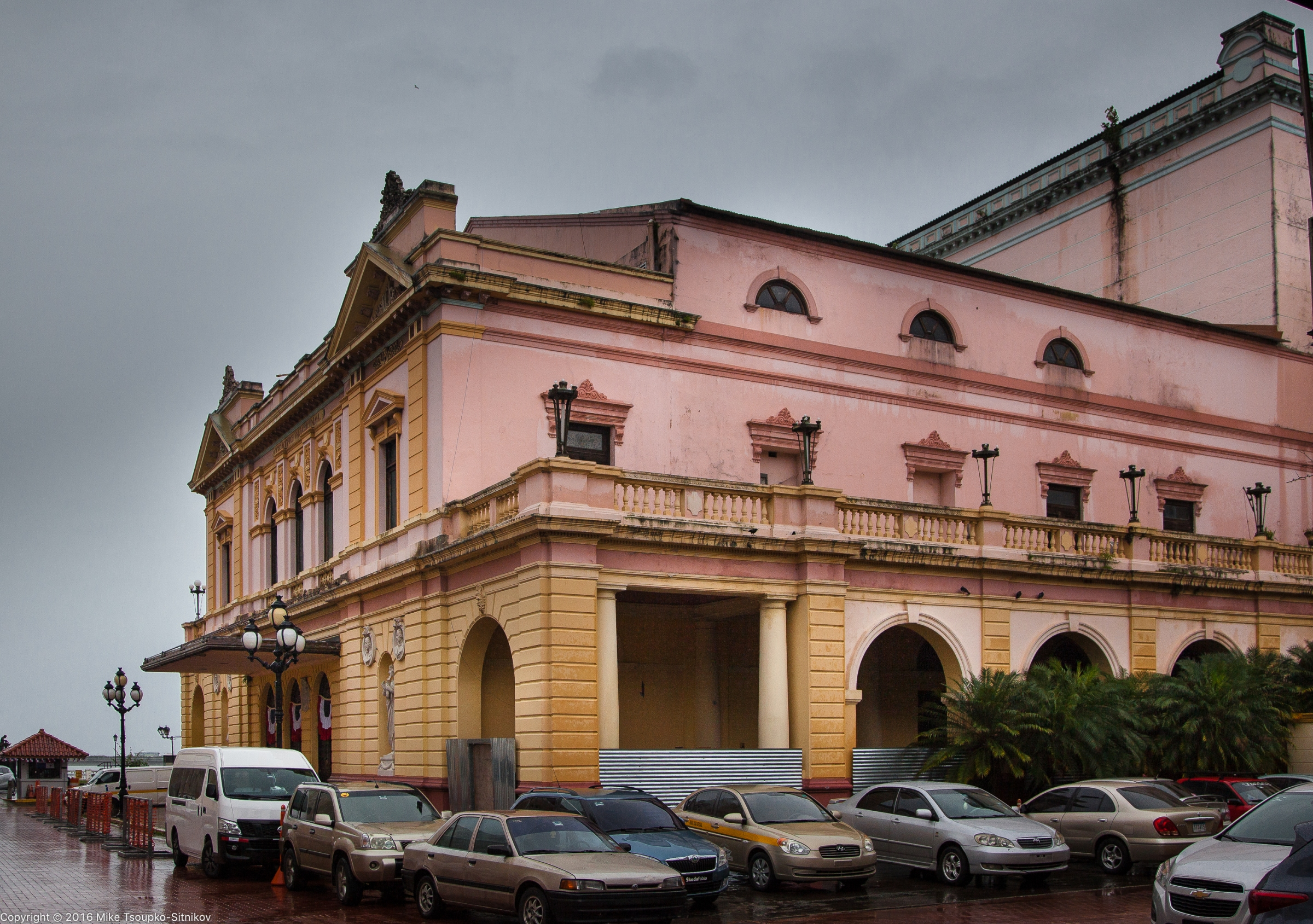 Panama City: the National Theater