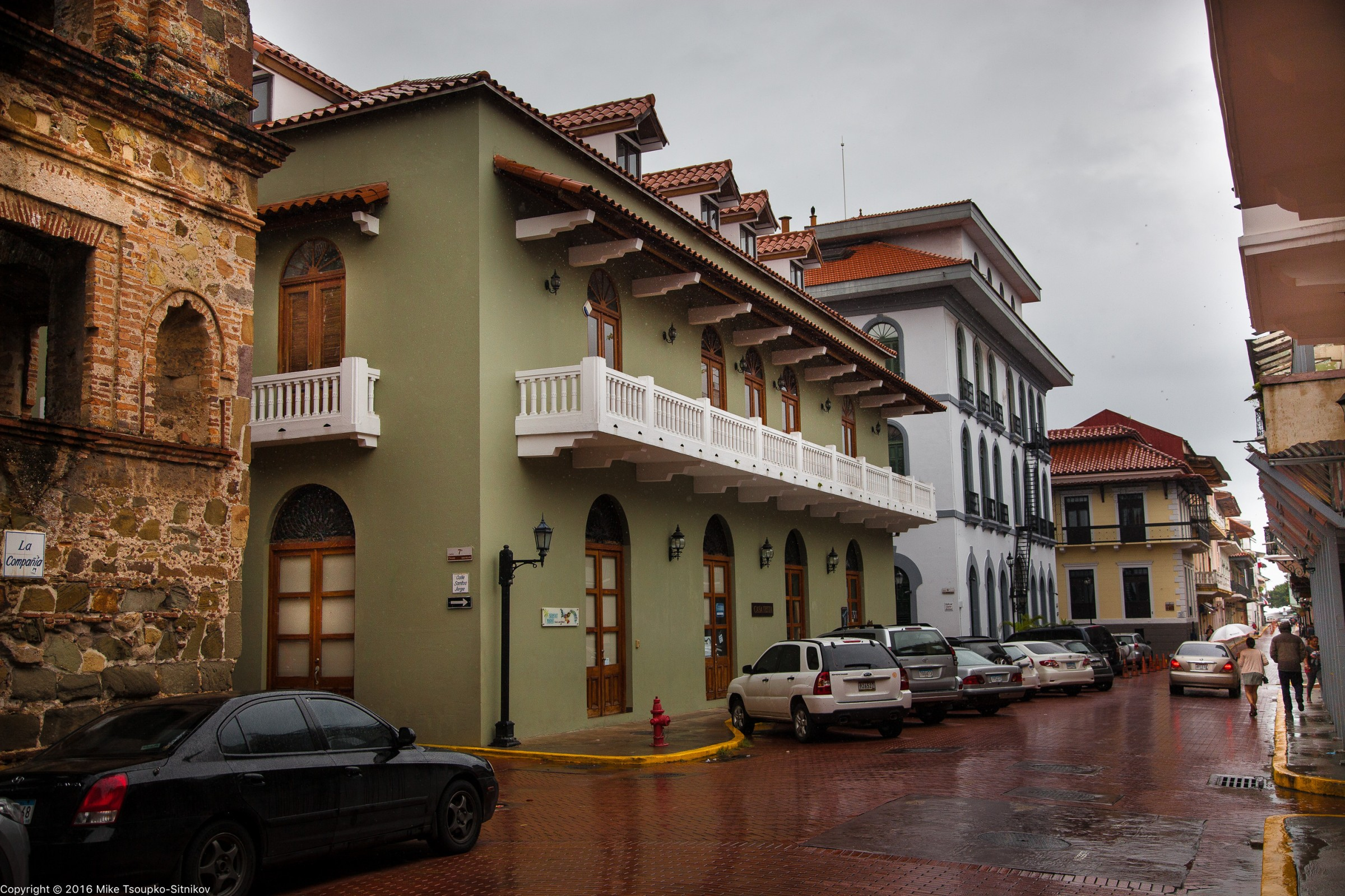 Panama City - the touristy part of the Old Town