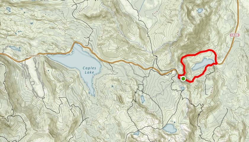 A detailed trail map and GPX tracks are available at http://www.alltrails.com/explore/tracks/red-lake-loop-hike