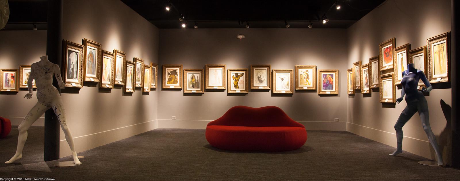 Salvador Dali Gallery in Monterey, CA