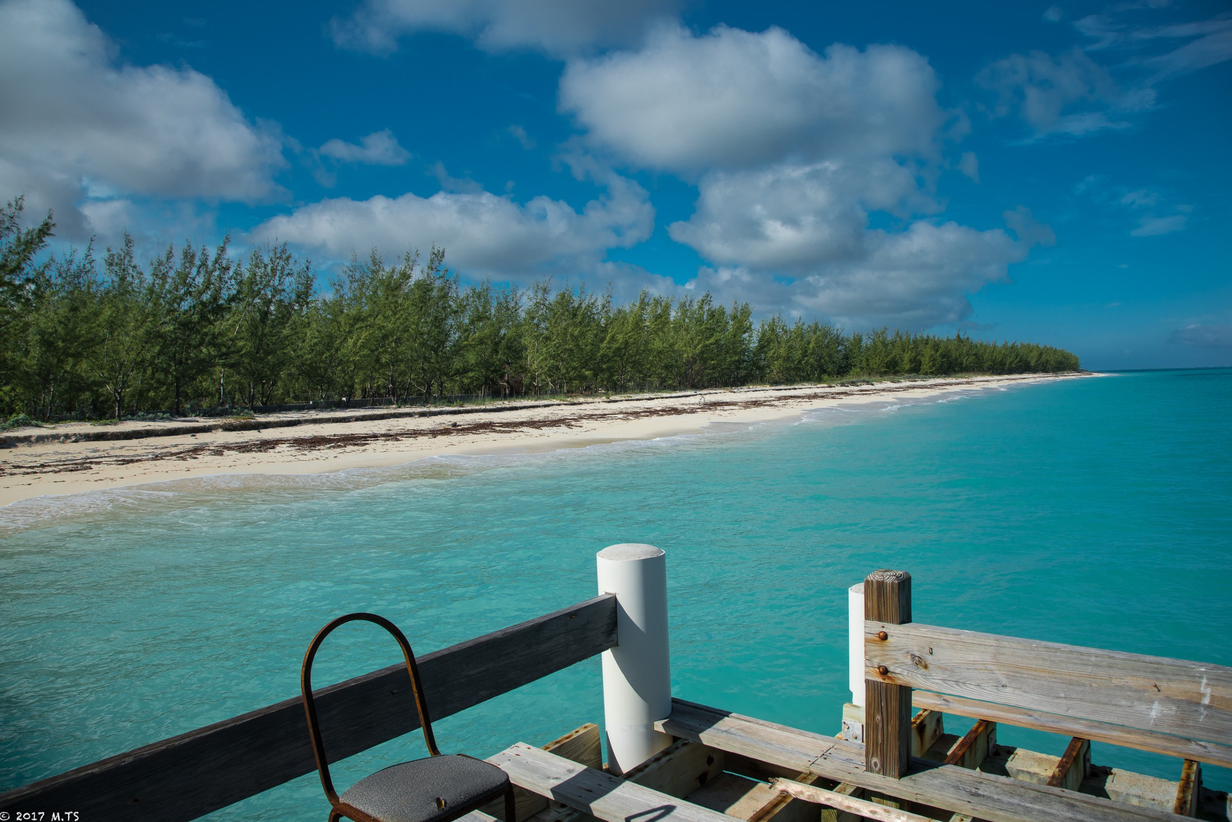 Beach on the North Caicos Island